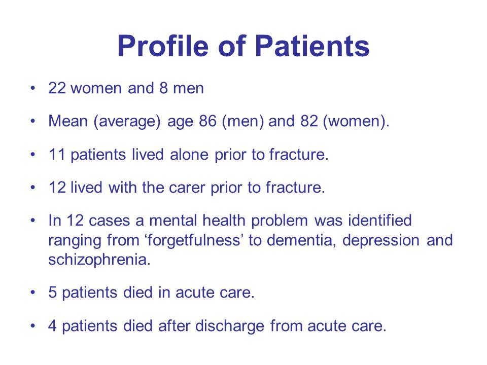Information Seeking Telephone (13) Carer asking staff (15) Via the patient (8) Listening/open ear (5) Assumptions made (11)