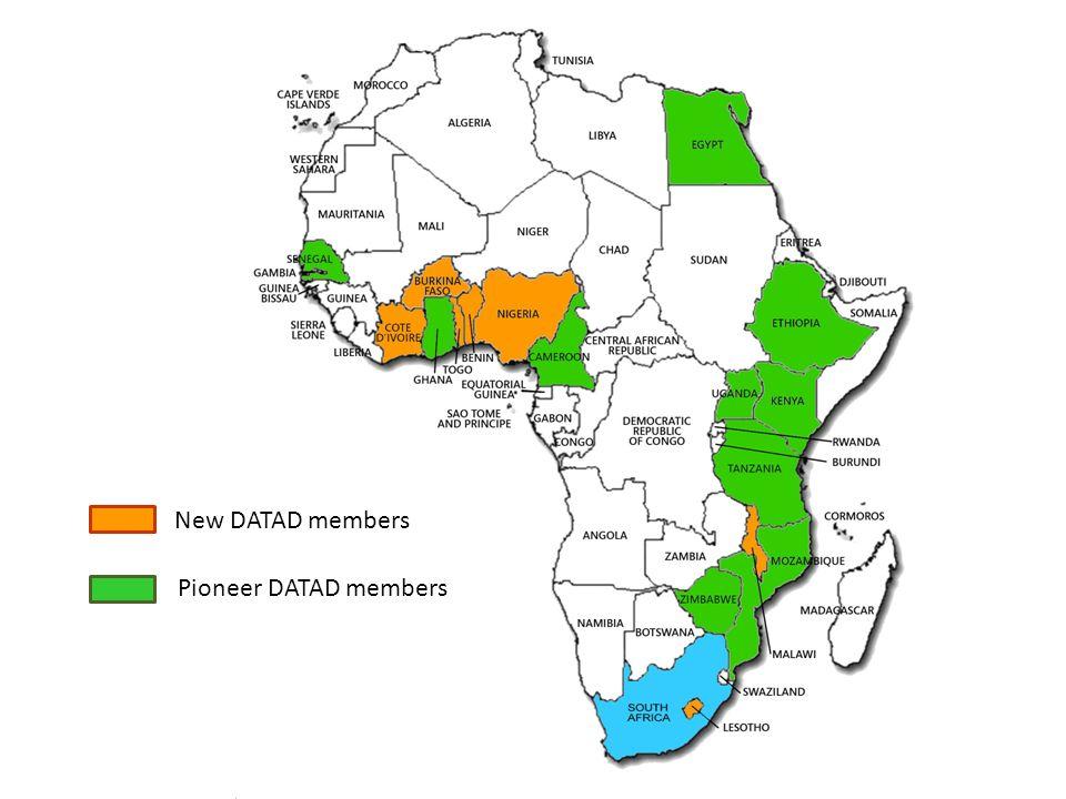 New DATAD members Pioneer DATAD members