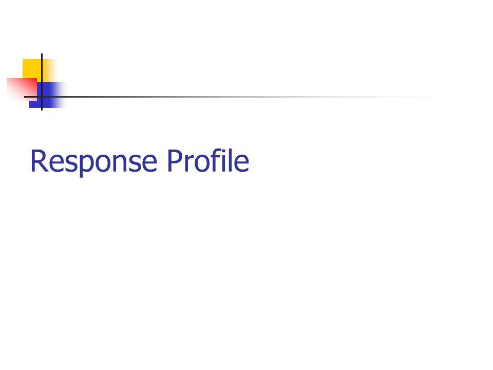 Response Profile