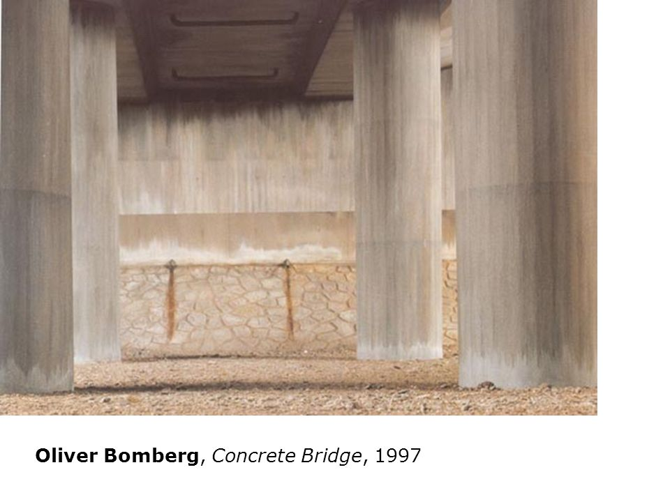Willie Doherty 2000 Oliver Bomberg, Concrete Bridge, 1997