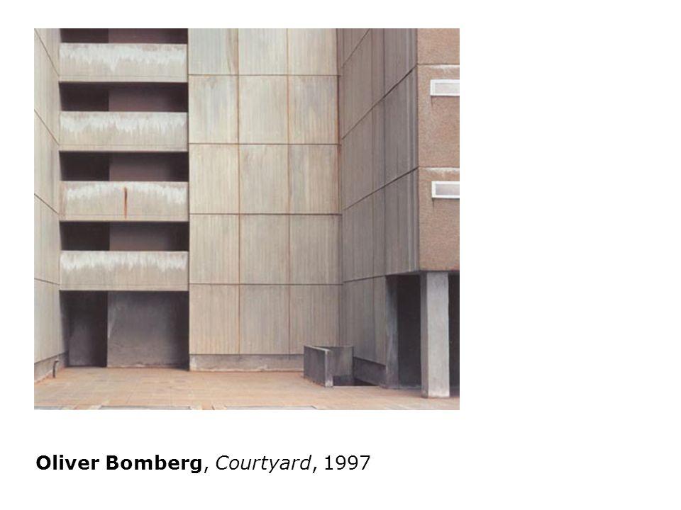 Oliver Bomberg, Courtyard, 1997