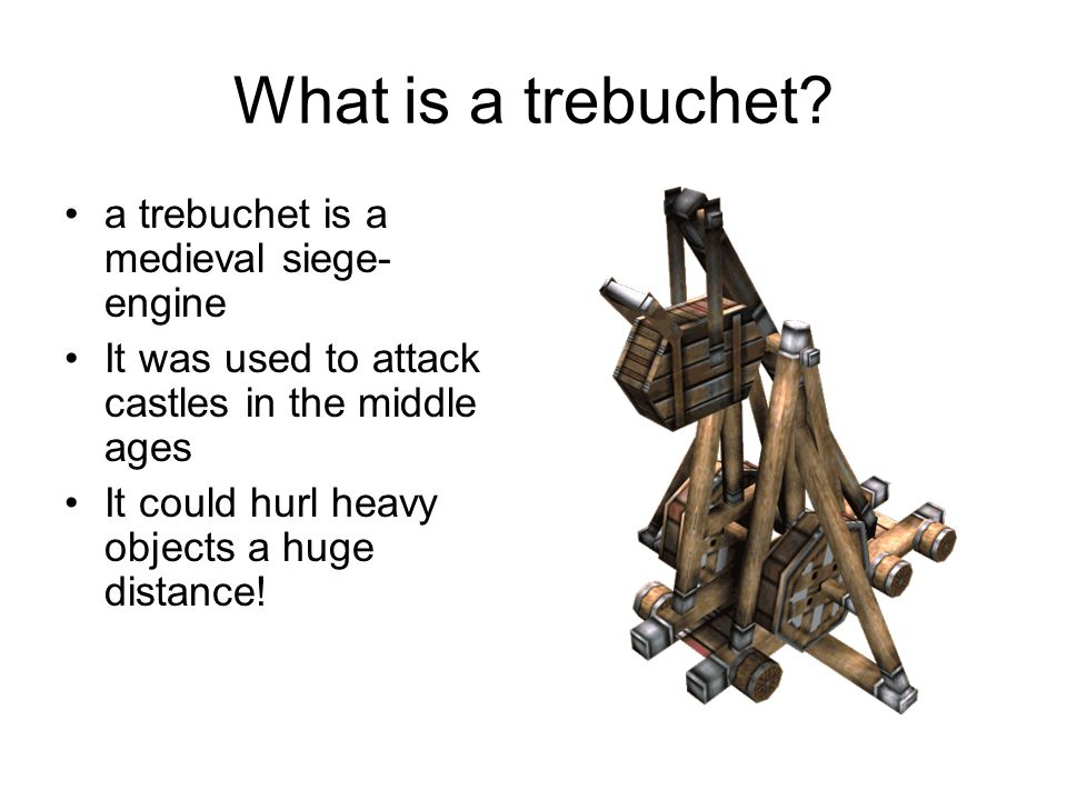 How to attack castles The Romans used siege-engines in battle - The ballista was like a huge crossbow which shot large bolts at the enemy.