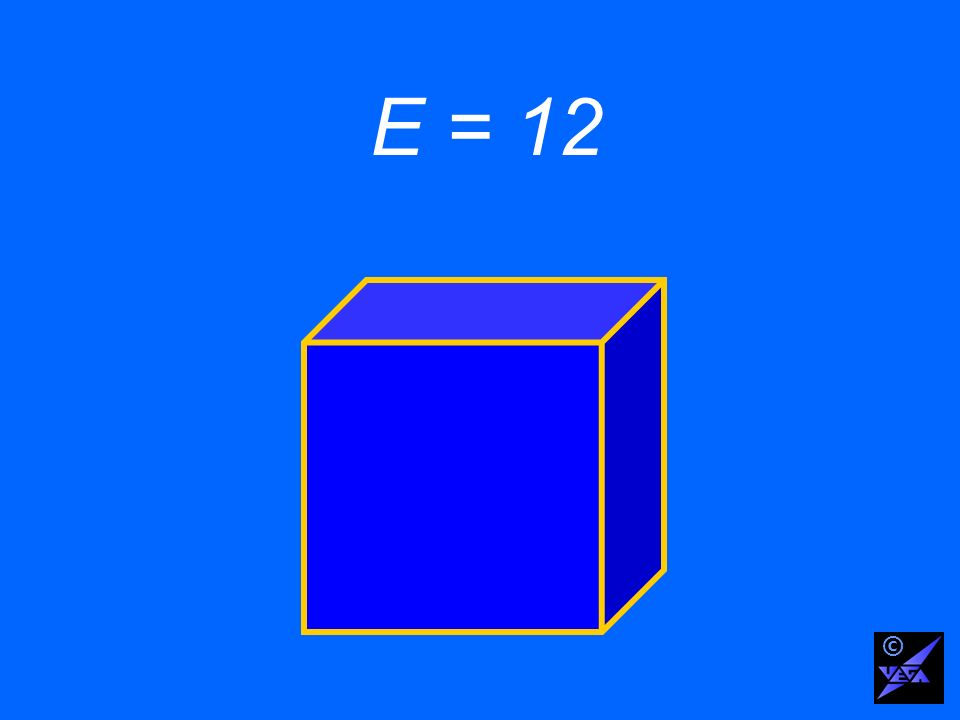 E = 12 ©
