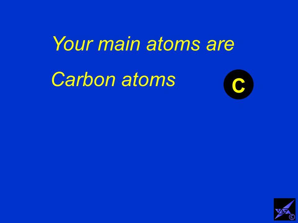 Carbon atoms C ©