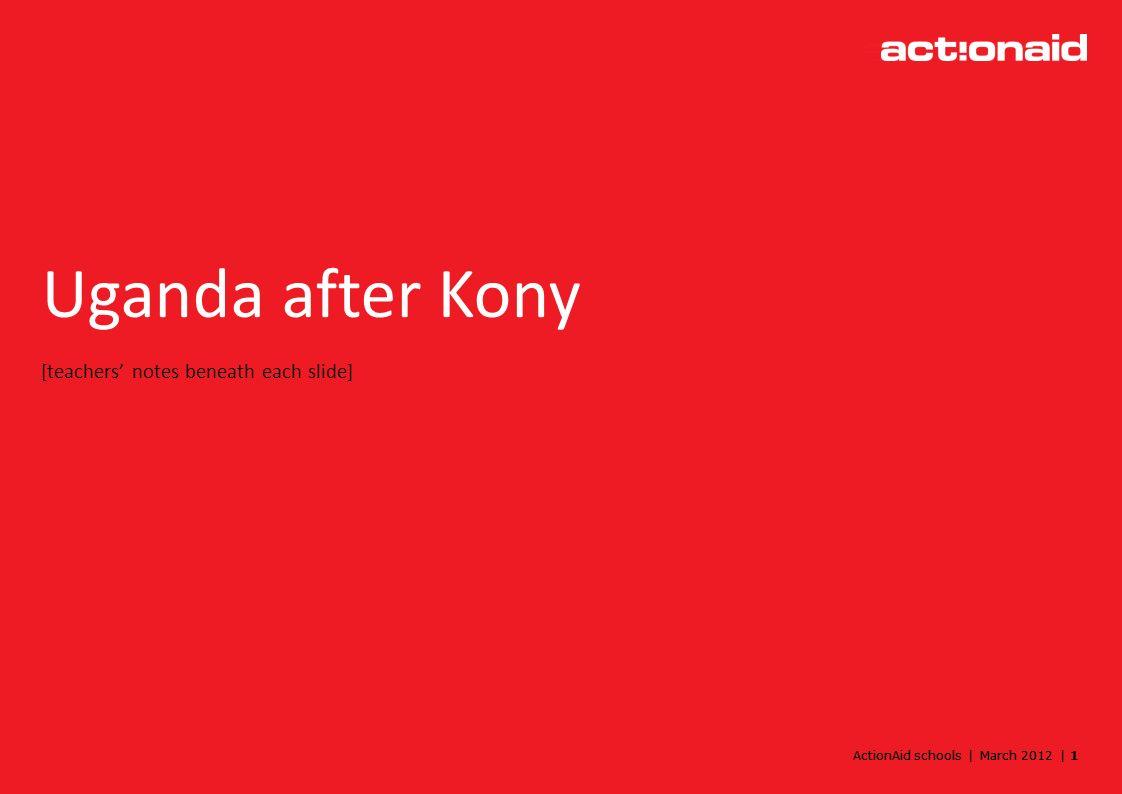 ActionAid schools | March 2012 | 2