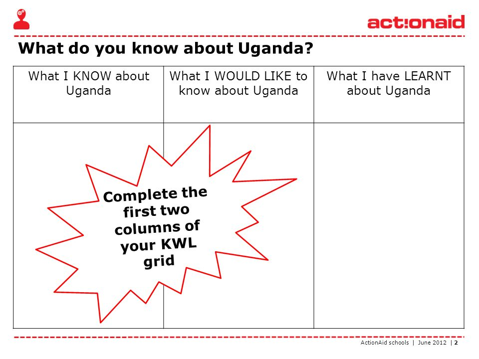 ActionAid schools | June 2012 | 3 Uganda