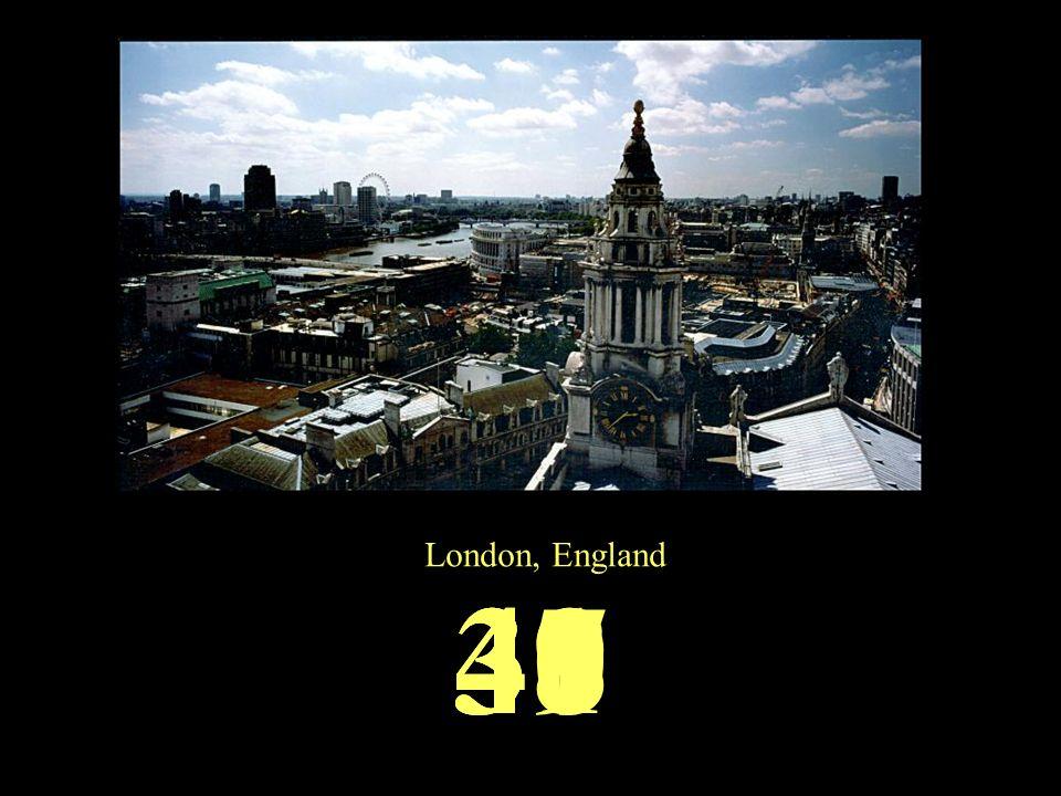 London, England 4140393837