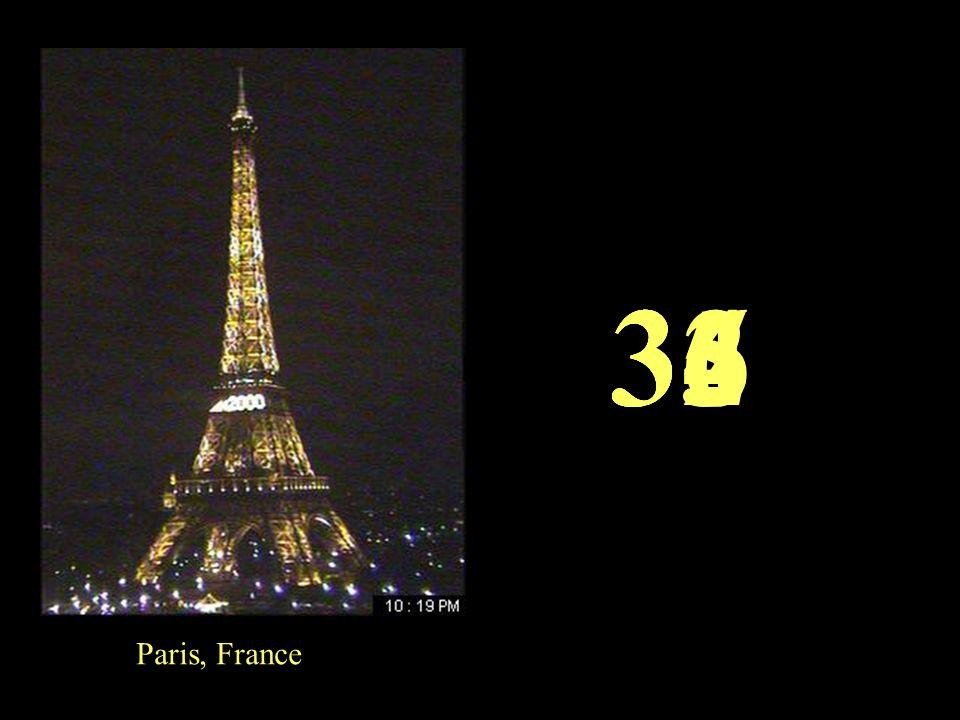 Paris, France 3635343332