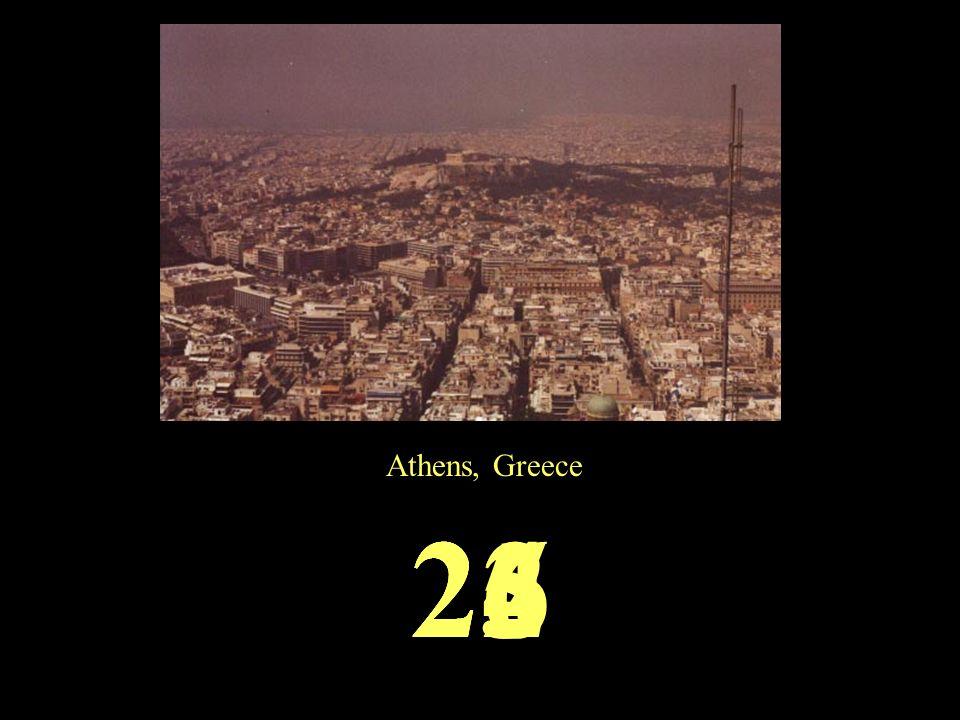 Athens, Greece 2625242322