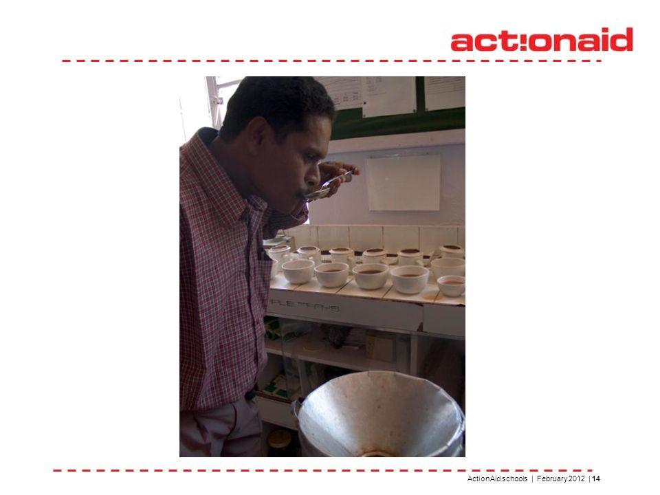 ActionAid schools | February 2012 | 14