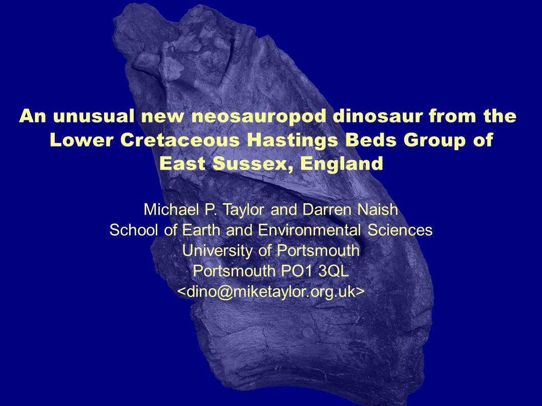 Is it a titanosaur? Neuquensaurus autralis MCS-5/20-22, D9 (Salgado et al. 2005, Figure 4)