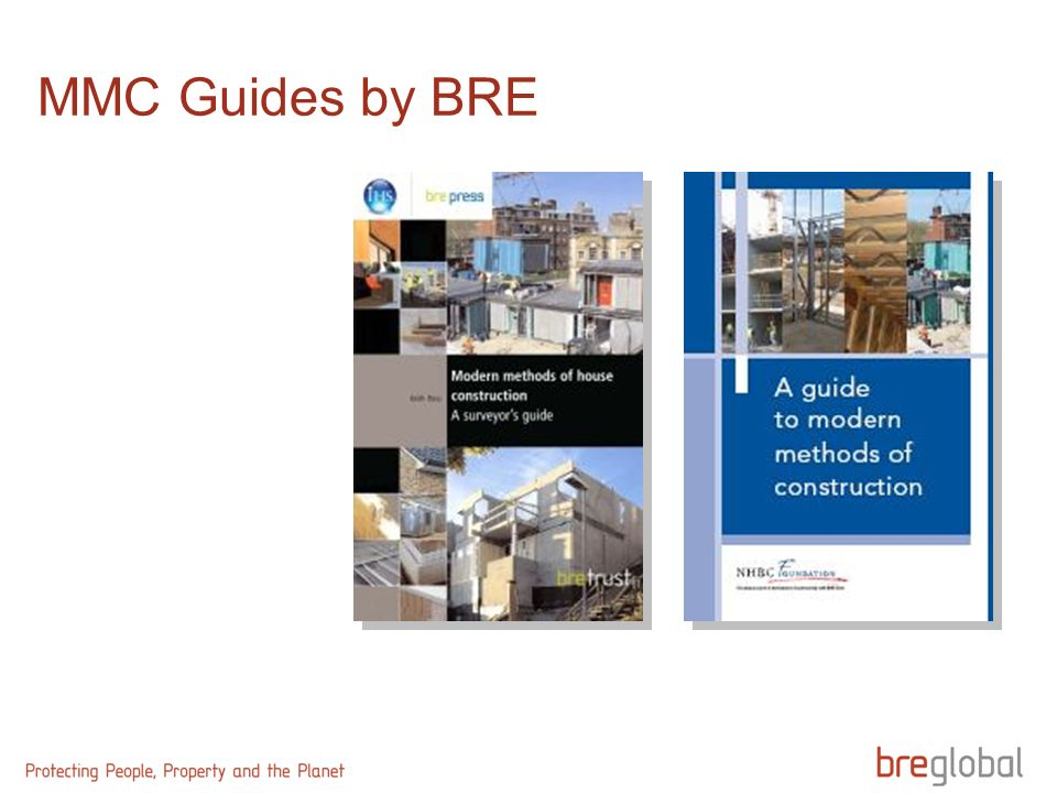 MMC Guides by BRE