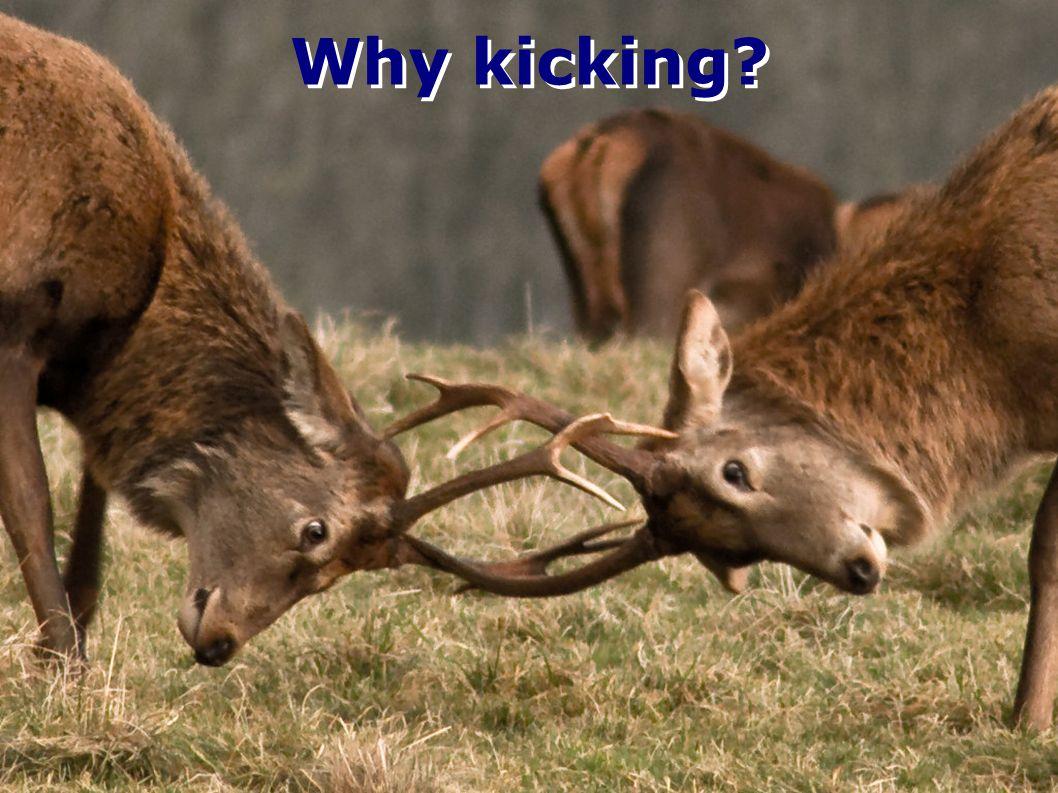 Why kicking?