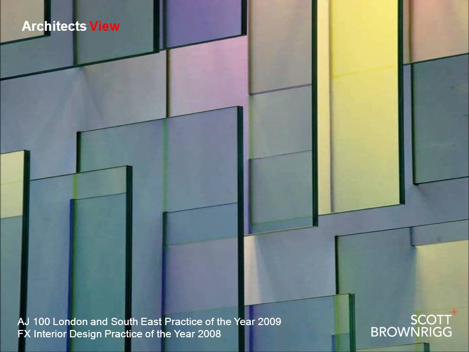 Architects View AJ 100 London and South East Practice of the Year 2009 FX Interior Design Practice of the Year 2008