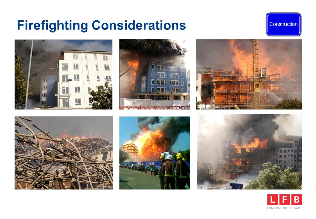 Firefighting Considerations Construction