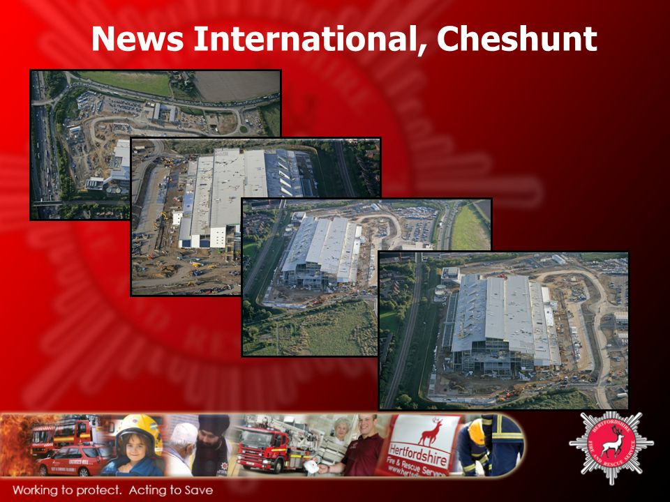 News International, Cheshunt