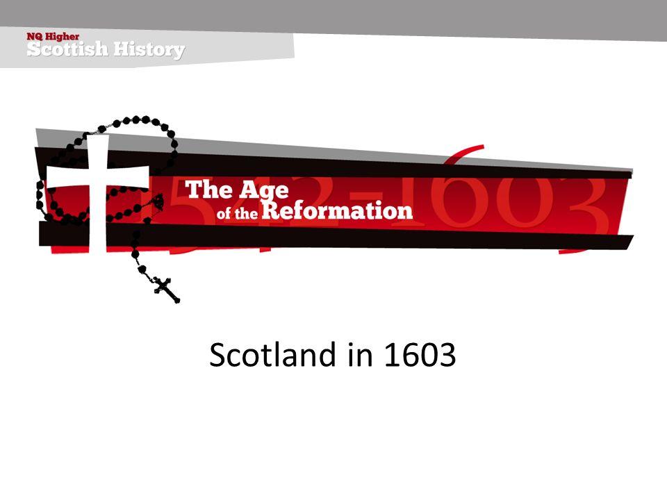 Scotland in 1603