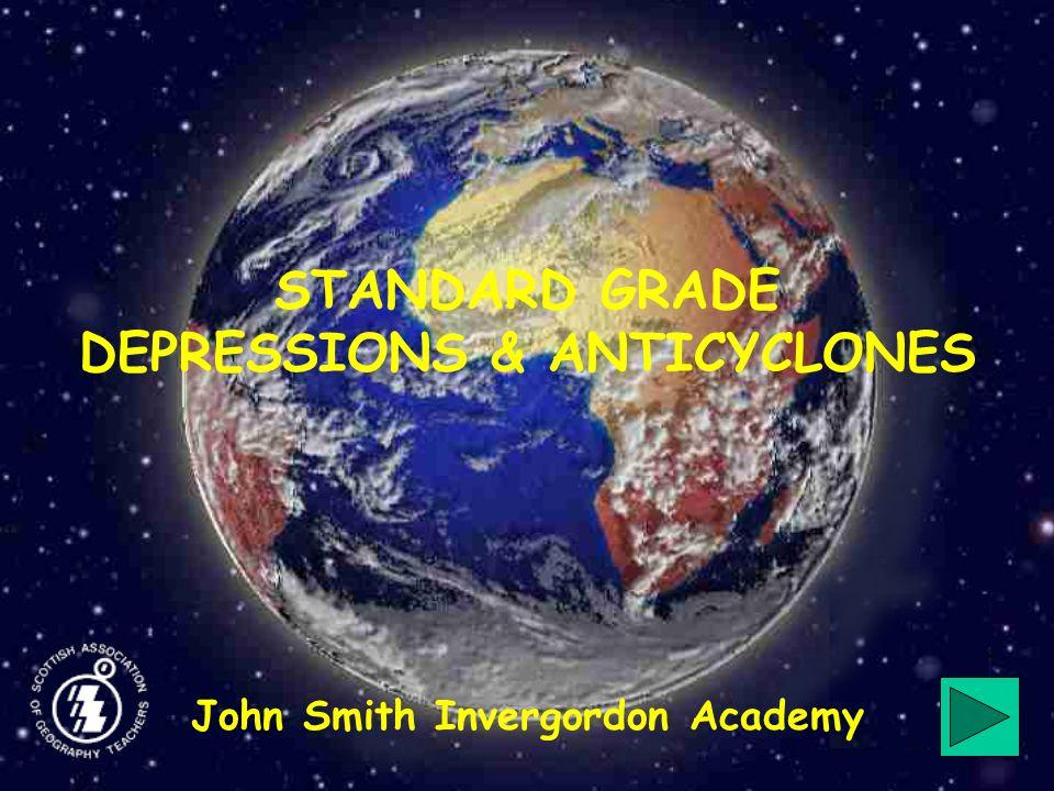 CONTENTS Atmospheric pressure Low pressure (Depressions) High Pressure (Anticyclones) Weather Maps Exit