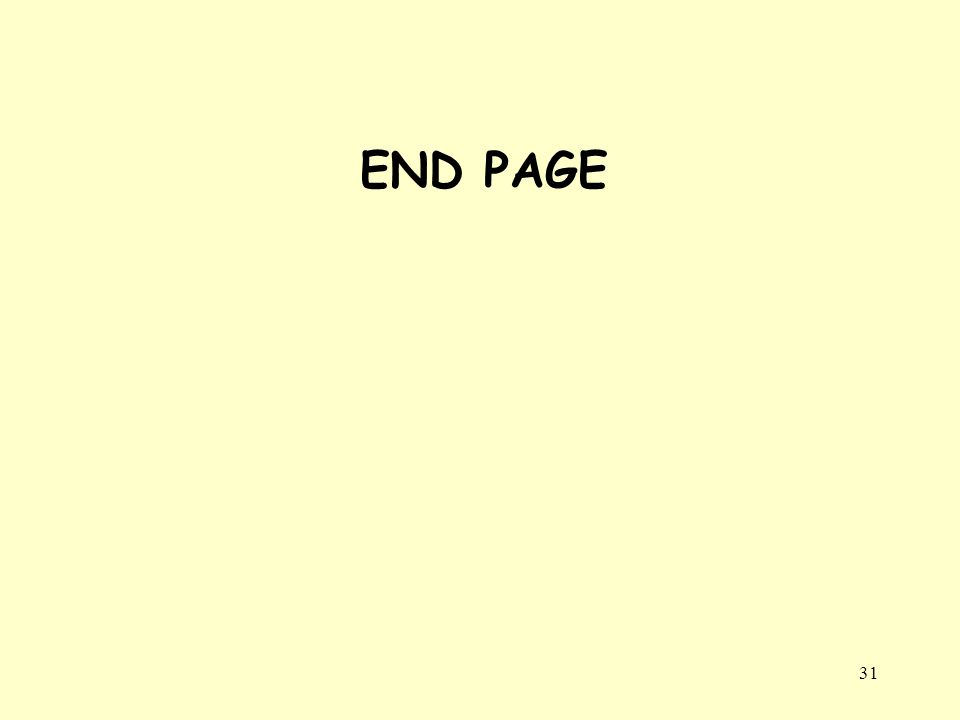 31 END PAGE