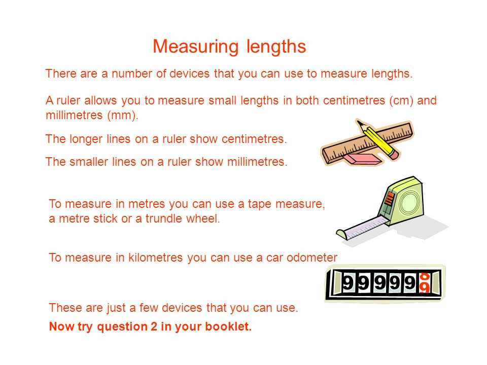 What would be the best device to use to measure the following.