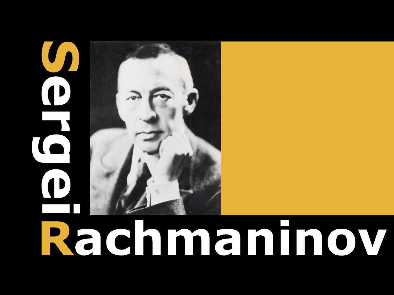 Rachmaninov Sergei