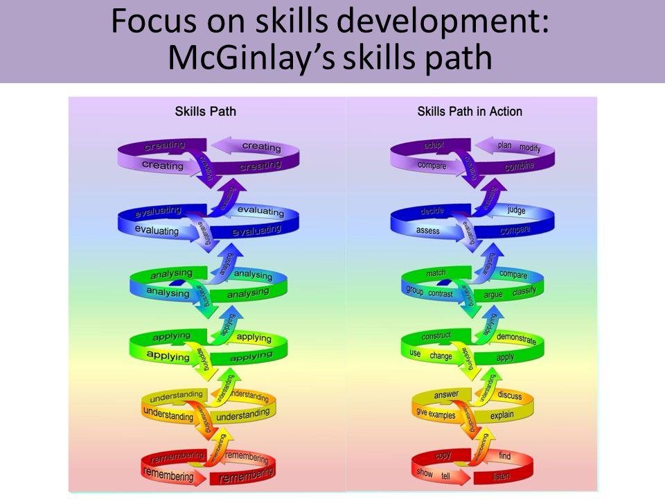 Focus on skills development: McGinlays skills path