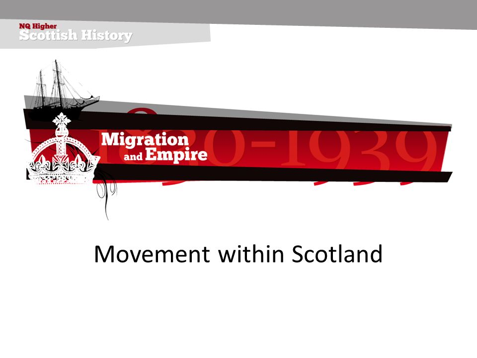 Movement within Scotland