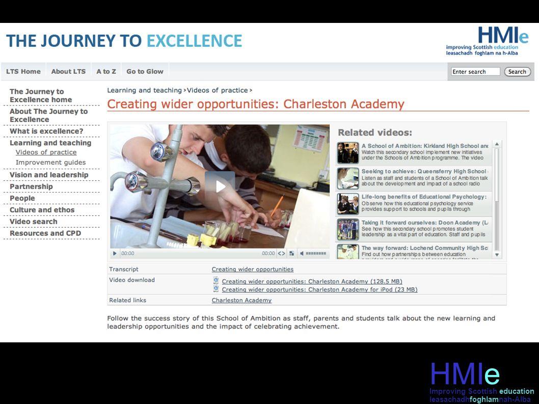 HMIe leasachadhfoghlamnah-Alba Improving Scottish education