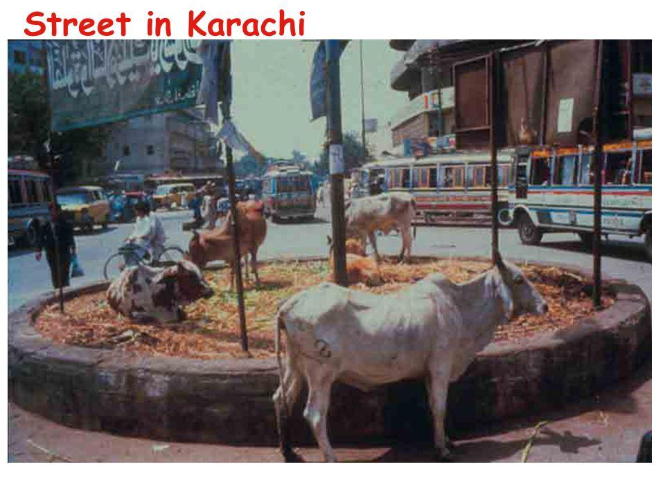 Street in Karachi
