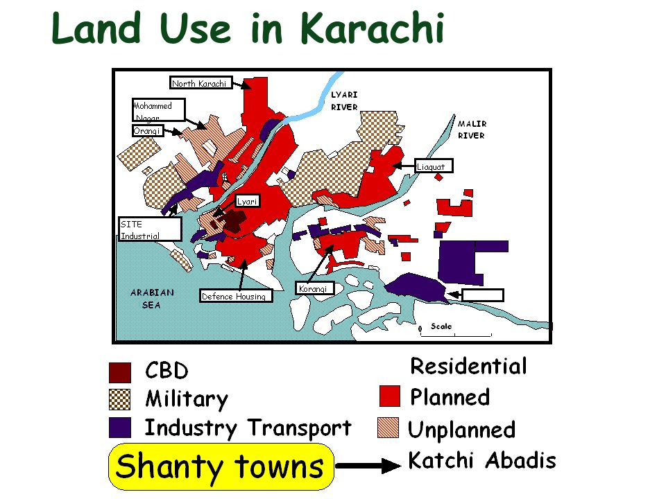 Land Use in Karachi
