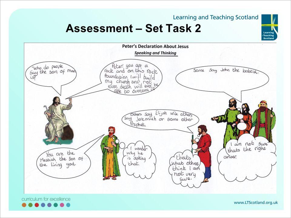 Assessment – Set Task 2