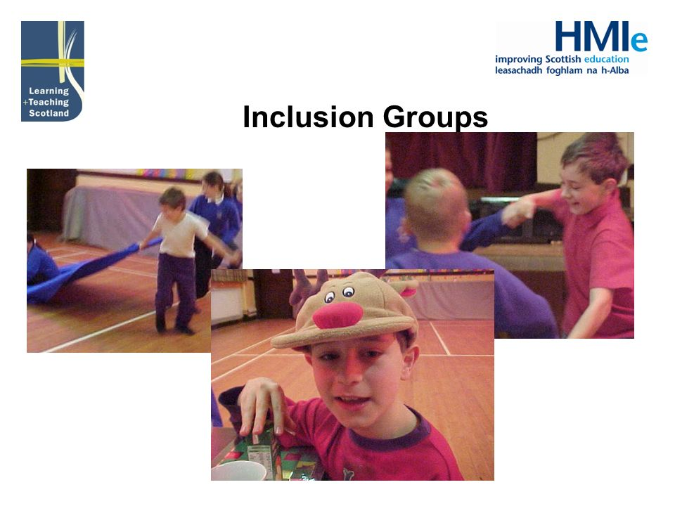 Inclusion Groups