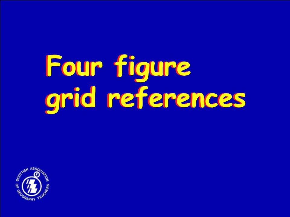 Four figure grid references Four figure grid references