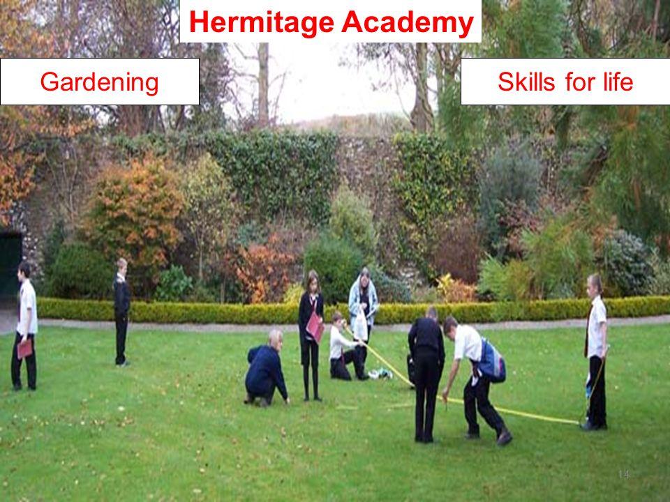 14 Skills for lifeGardening Hermitage Academy