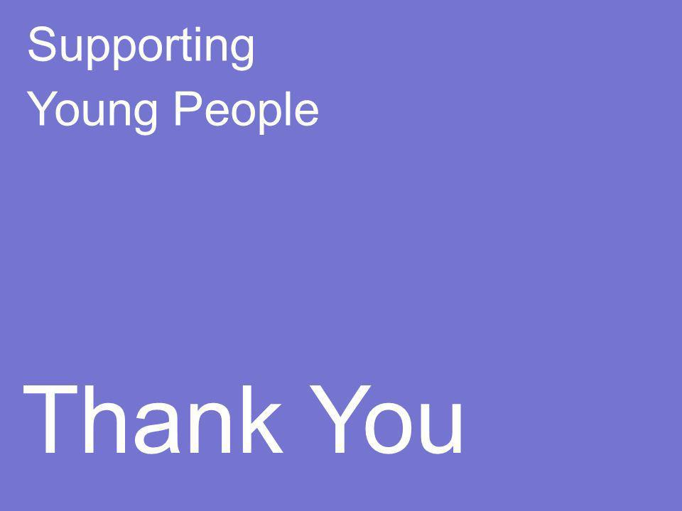 Supporting Young People Thank You