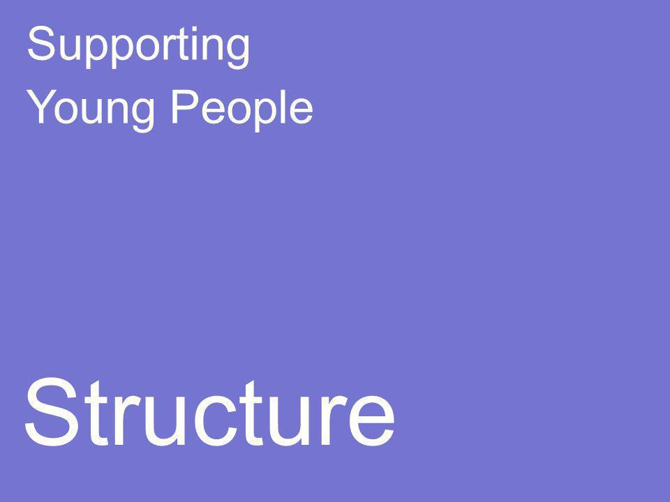 Supporting Young People Structure
