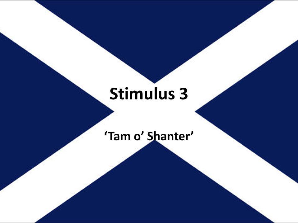 Stimulus 3 Tam o Shanter