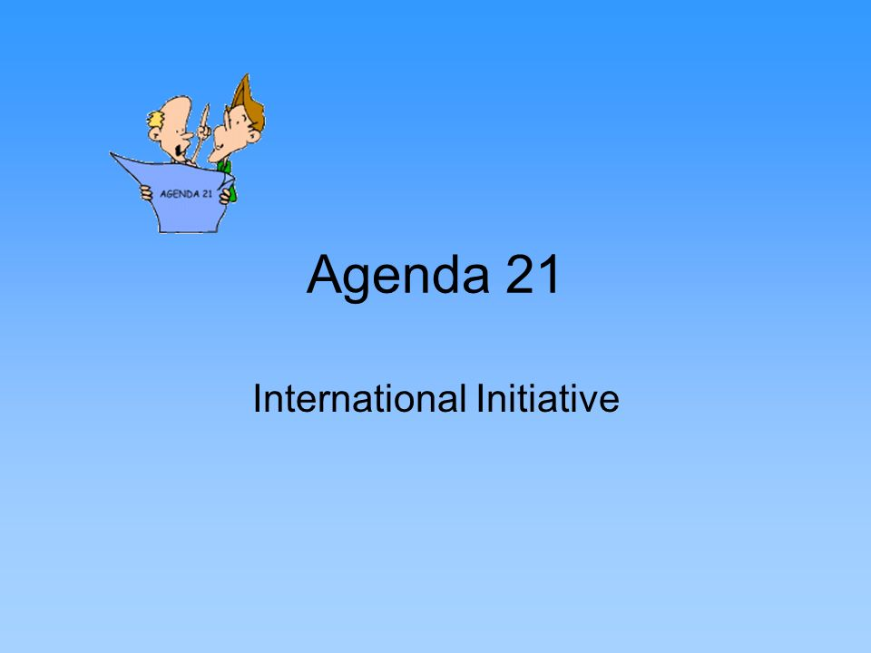 Agenda 21 International Initiative