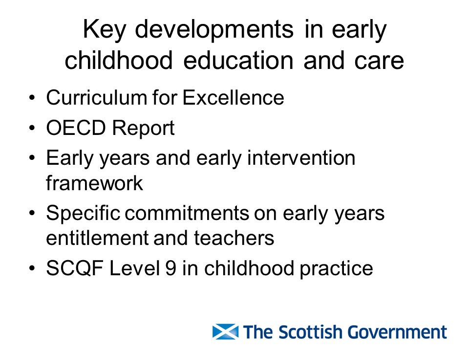 A focus on quality Qualifications and skills Evidence into practice Continuous learning