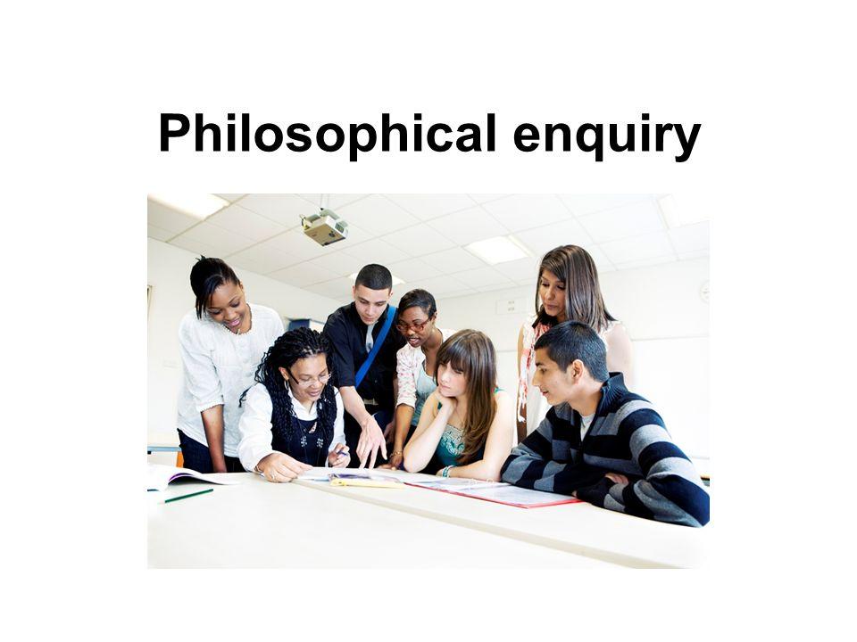 Philosophical enquiry