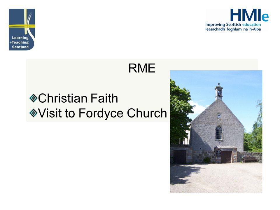 RME Christian Faith Visit to Fordyce Church