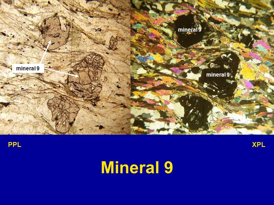 mineral 9 PPL XPL Mineral 9