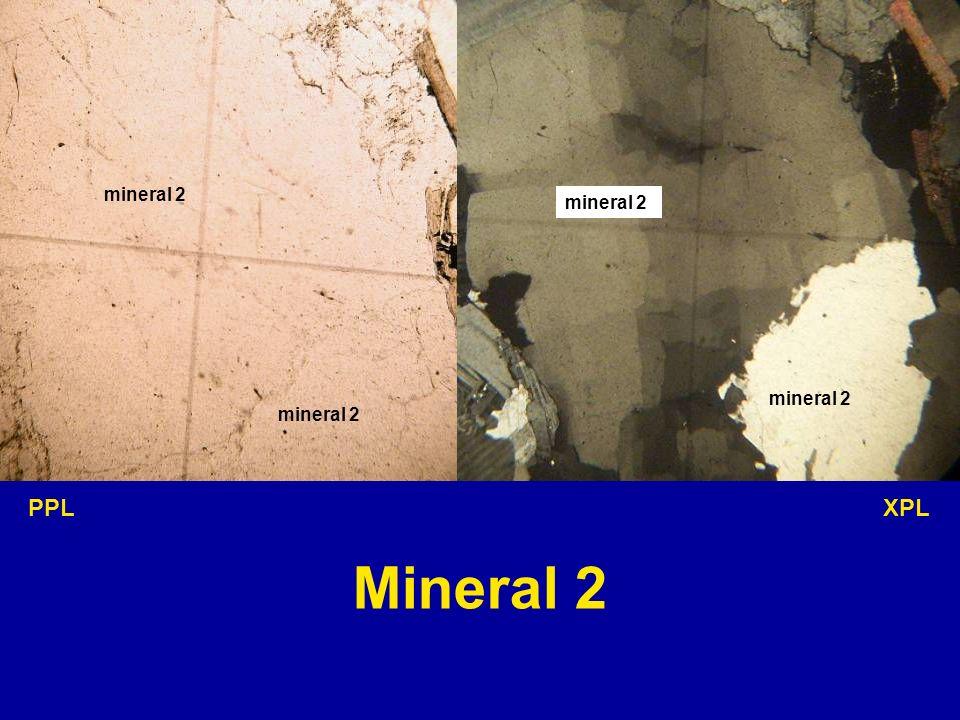mineral 2 PPL XPL Mineral 2