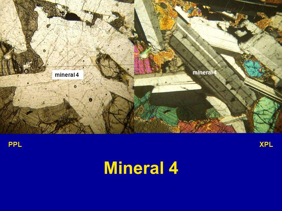 mineral 4 PPL XPL Mineral 4
