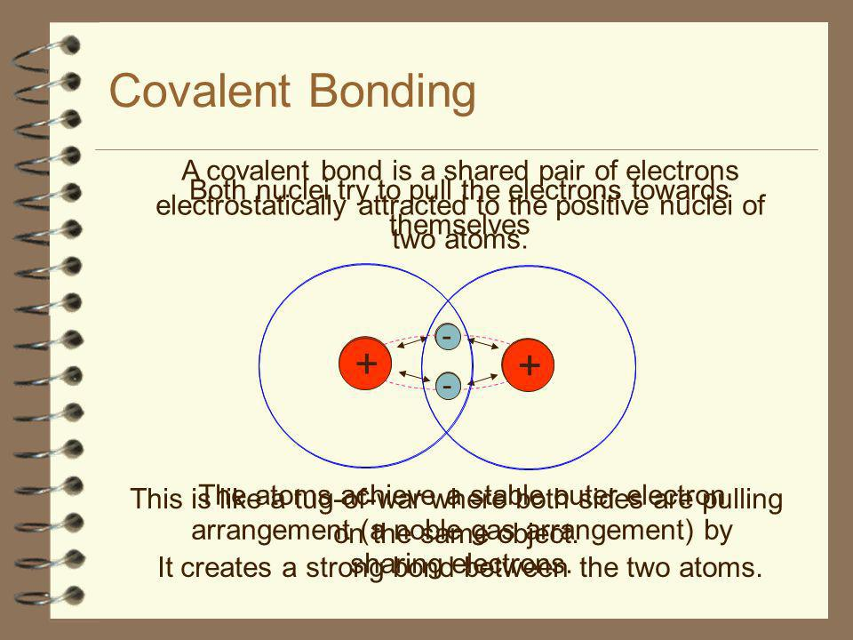 Polar Covalent Bonds Trends in the Periodic Table and Bonding