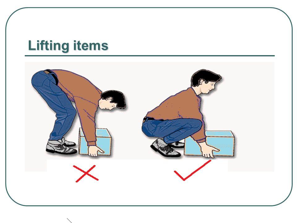 Lifting items