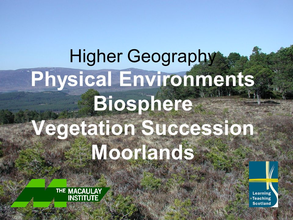 Glossary Equilibrium: A unit which links living organisms with each other and their physical environment (rock, soil, air and water) Climax Stage:Taller and more complex plants can grow Plants from earlier stages die out because of competition for light and water Ecosystem: When a vegetation community is relatively stable and self sustaining