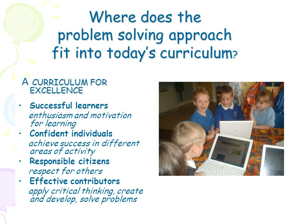Background: Our project this year was to address continuity and progression from nursery to primary 1, looking at methodology, principles and practices.
