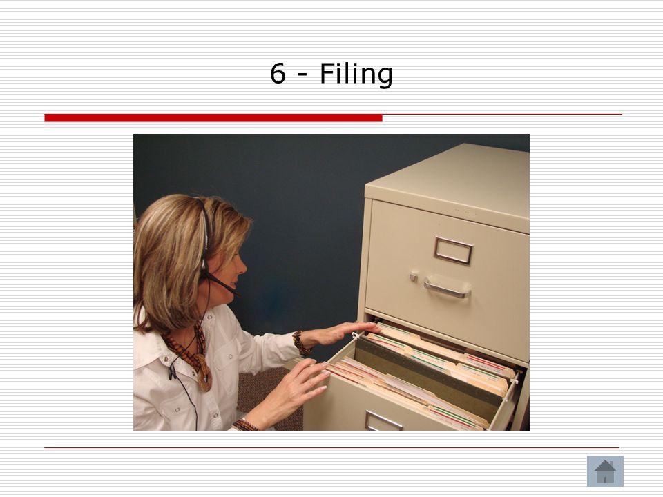 6 - Filing
