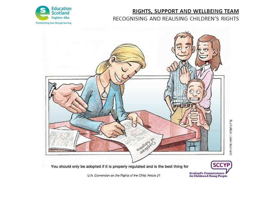 RIGHTS, SUPPORT AND WELLBEING TEAM RECOGNISING AND REALISING CHILDRENS RIGHTS